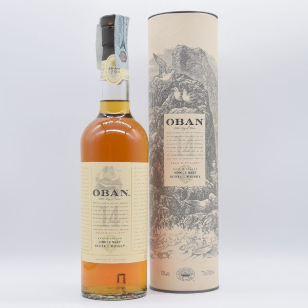 Oban Single Malt Scotch Whisky 14 Years Old (0,7l con astuccio)