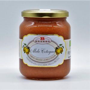 Composta biologica di mele cotogne
