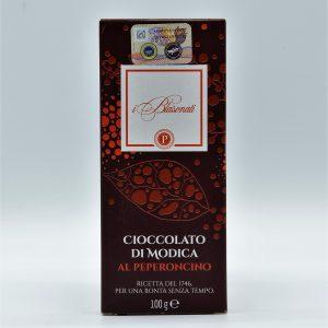 Cioccolato di Modica al peperoncino – I Blasonati – Artigiana Biscotti