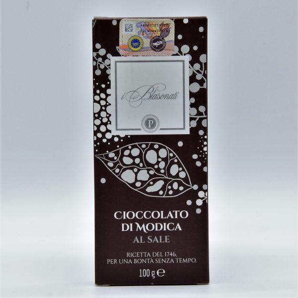 Cioccolato di Modica al sale