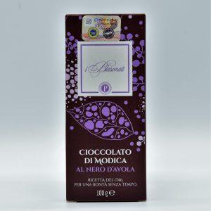 Cioccolato di Modica al Nero d'Avola – I Blasonati – Artigiana Biscotti