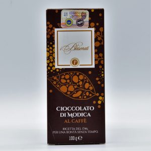 Cioccolato di Modica al caffè – I Blasonati – Artigiana Biscotti