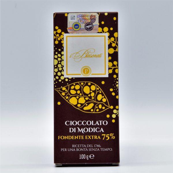 Cioccolato di Modica fondente