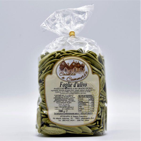 Foglie d'Ulivo agli spinaci