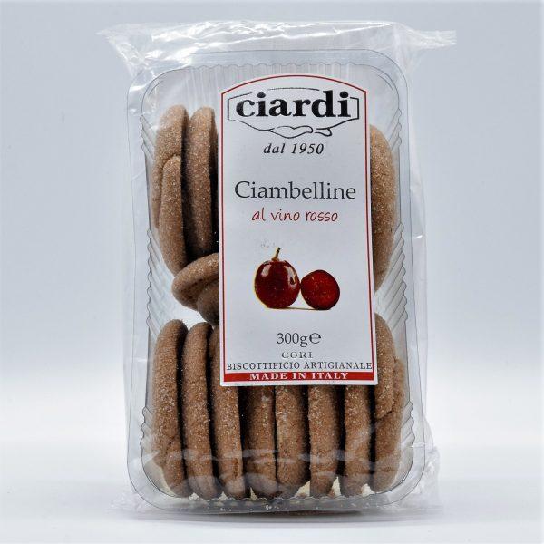 Ciambelline al Vino Rosso – Ciardi Biscotti dal 1950