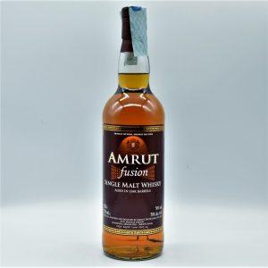 """Single Malt Whisky Indiano """"Fusion"""" (0,7l con astuccio) – Amrut"""