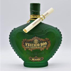"""Brandy invecchiato 20 anni """"Vecchio 800"""" (0,5l) – Tosolini"""