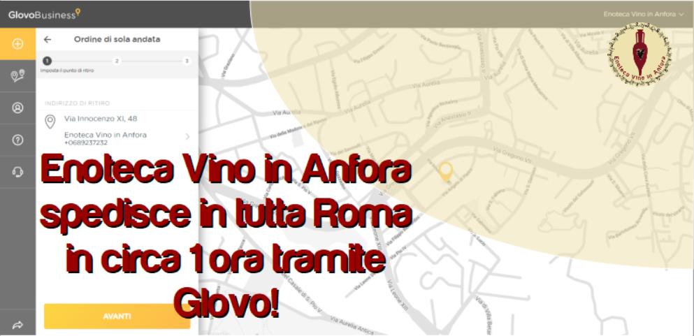 Consegne veloci in tutta Roma
