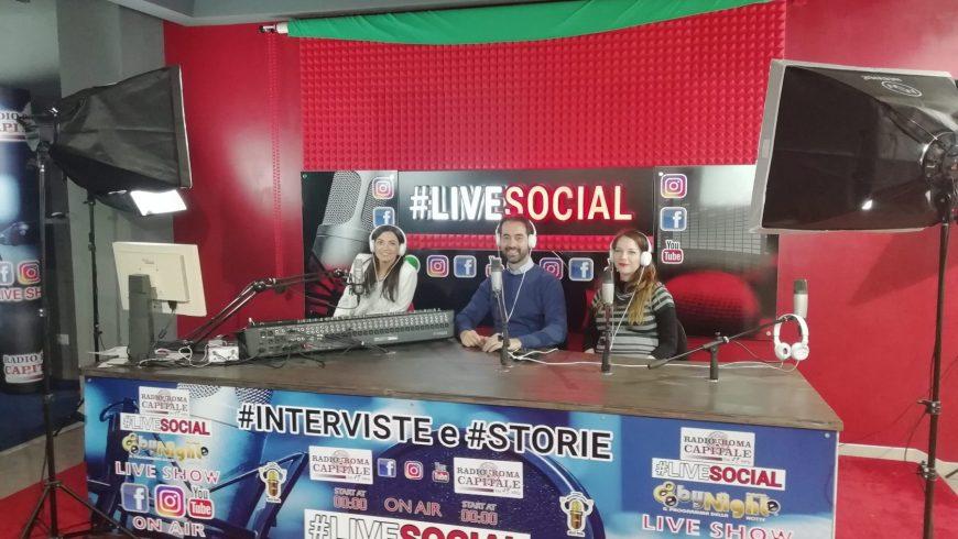 Intervista Radiofonica #LiveSocial