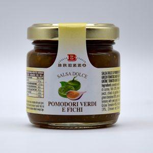 Salsa per Formaggi di Pomodori Verdi e Fichi