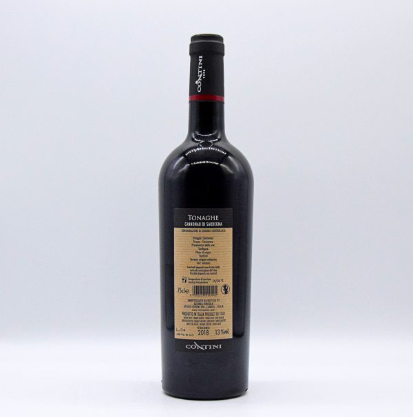 """Cannonau di Sardegna DOC """"Tonaghe"""" – Contini"""