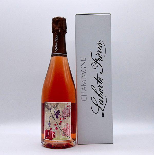 Champagne Rosé de Meunier Extra Brut – Laherte Frères