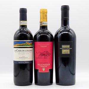 3-Pack: Vini Rossi Italiani