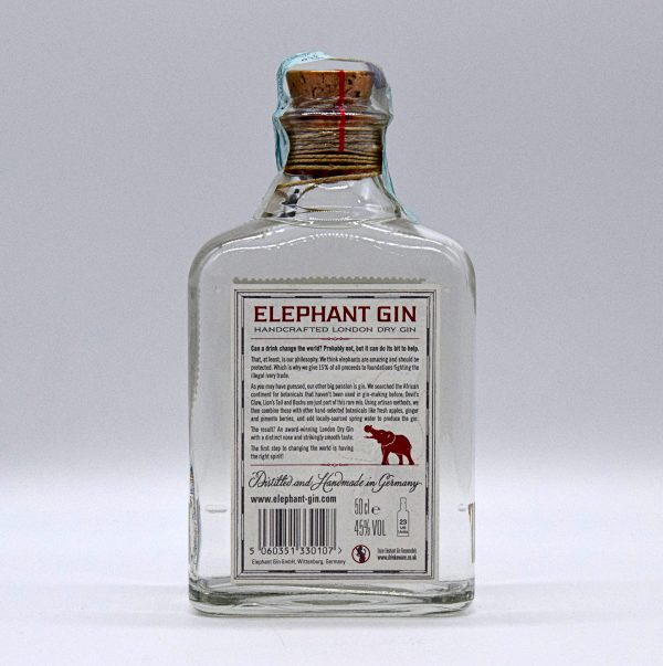 Elephant Gin Handcrafted London Dry Gin (0,5l)