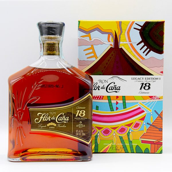 "Rum Flor de Cana ""Linea Centenario 18 Anni"" Single Estate (0,7l)"