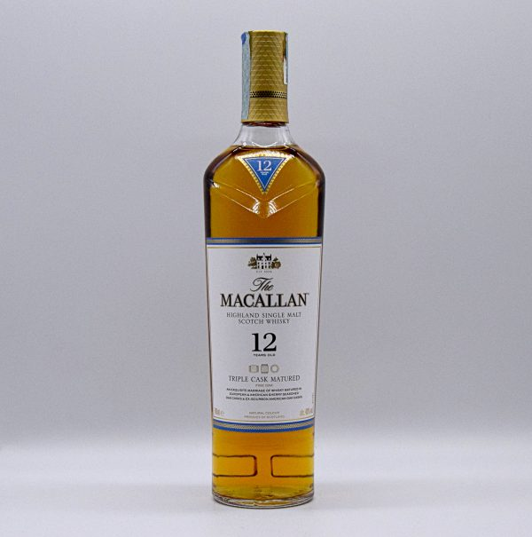 The Macallan Single Malt Scotch Whisky 12 Years Old (0,7l con astuccio)