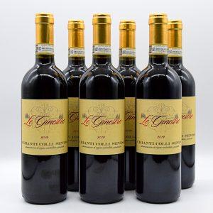 Chianti Colli Senesi DOCG – Le Ginestre (6 Bottiglie)