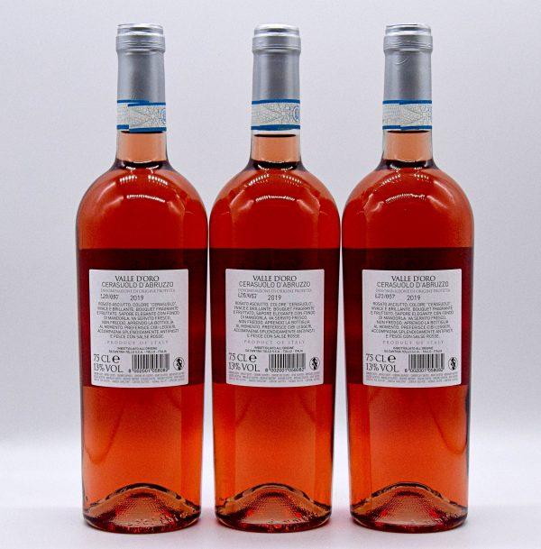 Cerasuolo d'Abruzzo DOC – Valle d'oro Tollo (3 Bottiglie)