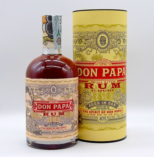 Rum Don Papa Aged in Oak 70cl (con astuccio)
