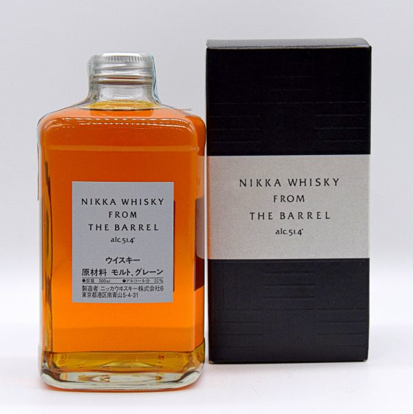 """Whisky Giapponese """"From the Barrel"""" (0,5l con astuccio) – Nikka"""