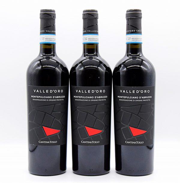 Abruzzo DOC Montepulciano – Valle d'oro Tollo (3 Bottiglie)