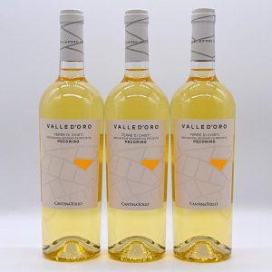 Terre di Chieti IGT Pecorino – Valle d'oro Tollo (3 Bottiglie)
