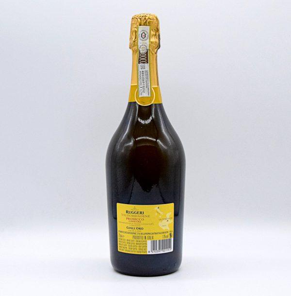 """Valdobbiadene Prosecco Superiore DOCG Extra Dry """"Giallo Oro"""" – Ruggeri"""