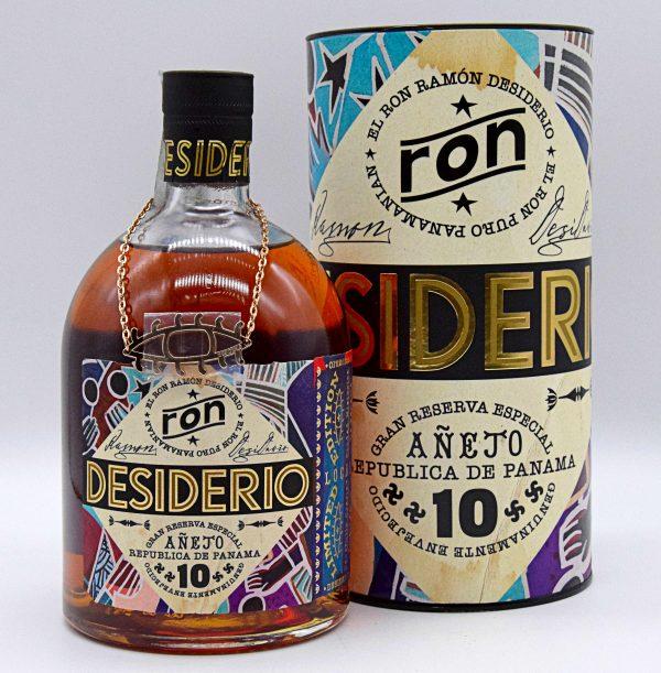 Ron Desiderio Invecchiato 10 anni 70cl (con astuccio)