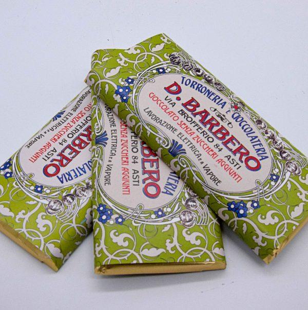 Cioccolato Fondente Senza Zuccheri Aggiunti (3 Tavolette) – Davide Barbero