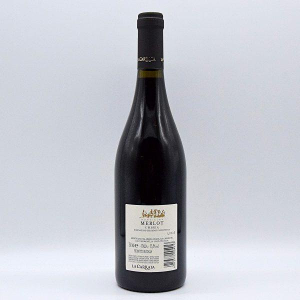 Umbria IGT Rosso Merlot Porticina – La Carraia
