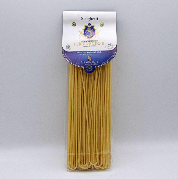 """Pasta di Gragnano IGP """"Spaghetti"""" – Pastificio Ferdinando II"""