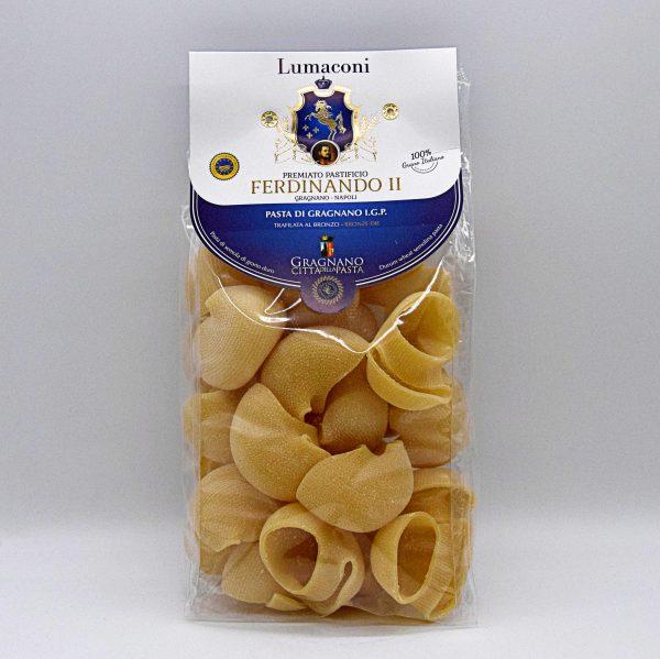 "Pasta di Gragnano IGP ""Lumaconi"" – Pastificio Ferdinando II"