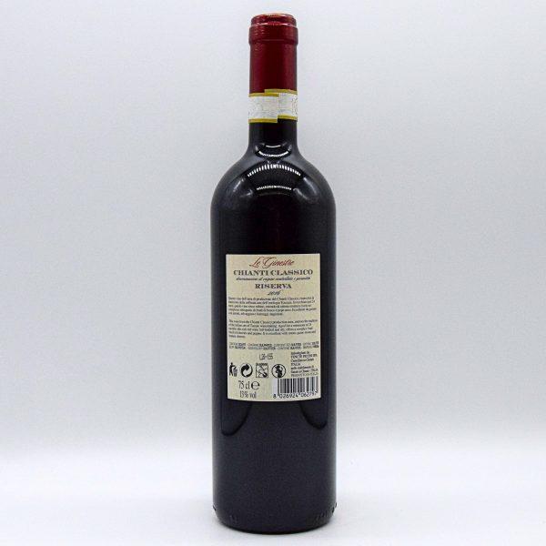 Chianti Classico Riserva DOCG – Le Ginestre