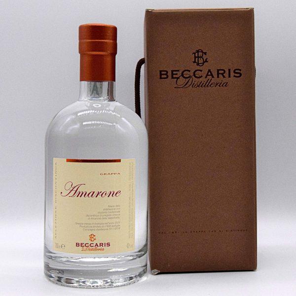 Grappa Amarone Linea Selezione Discontinua (con astuccio) – Distilleria Beccaris
