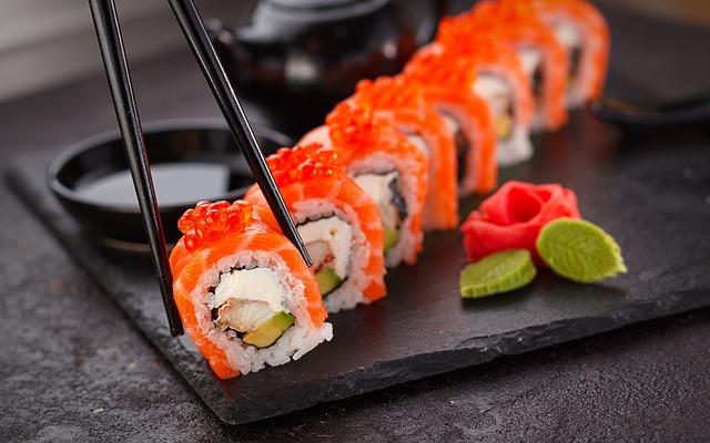 Vino e sushi