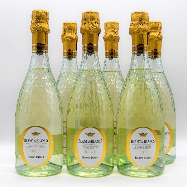 "Spumante Brut Blanc de Blancs ""Gran Cuvée"" – Borgo Imbeni (6 Bottiglie)"