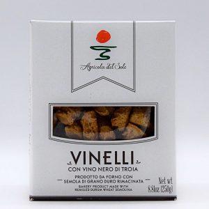 """Tarallini """"Vinelli"""" con Vino Nero di Troia – Agricola del Sole"""