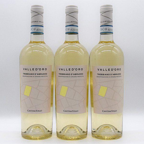 Abruzzo DOC Trebbiano – Valle d'oro Tollo (3 Bottiglie)