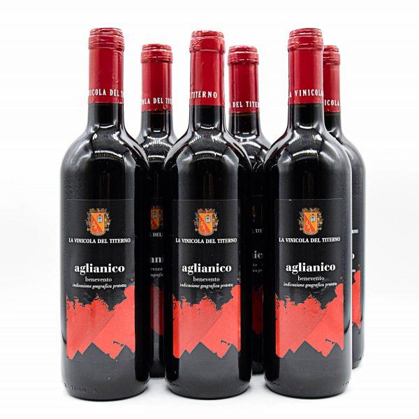 Aglianico del Beneventano IGT – La Vinicola del Titerno (6 Bottiglie)