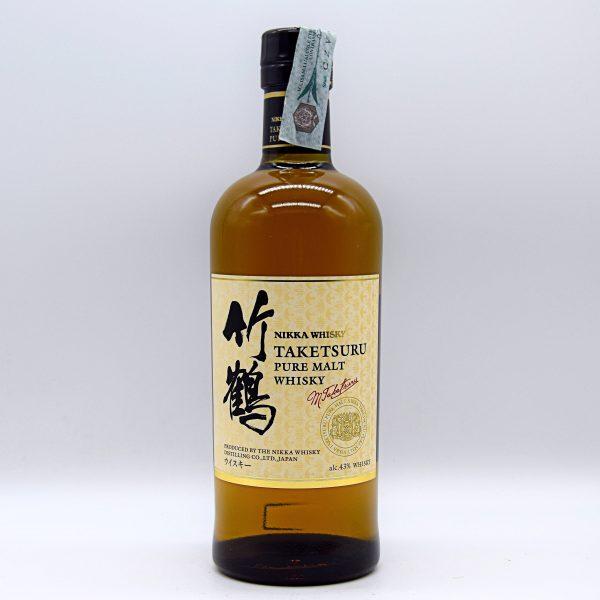 "Pure Malt Whisky Giapponese ""Taketsuru"" (0,7l con astuccio) – Nikka"