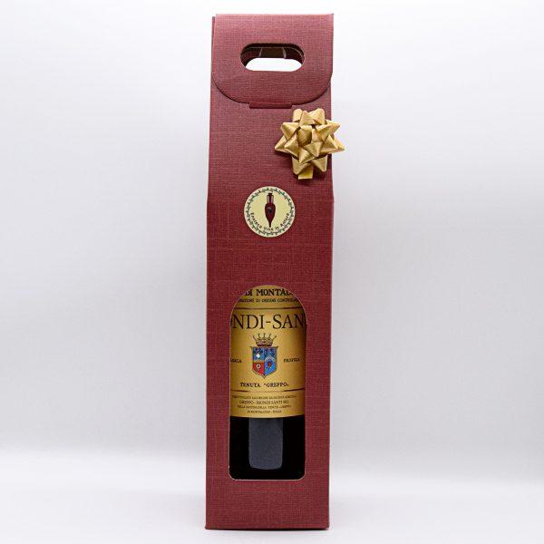 Confezione Regalo con Rosso di Montalcino Biondi Santi