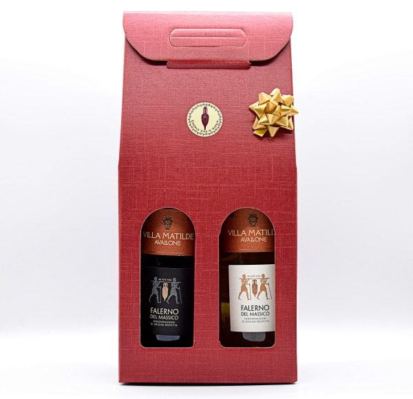 Confezione Regalo con vini Villa Matilde