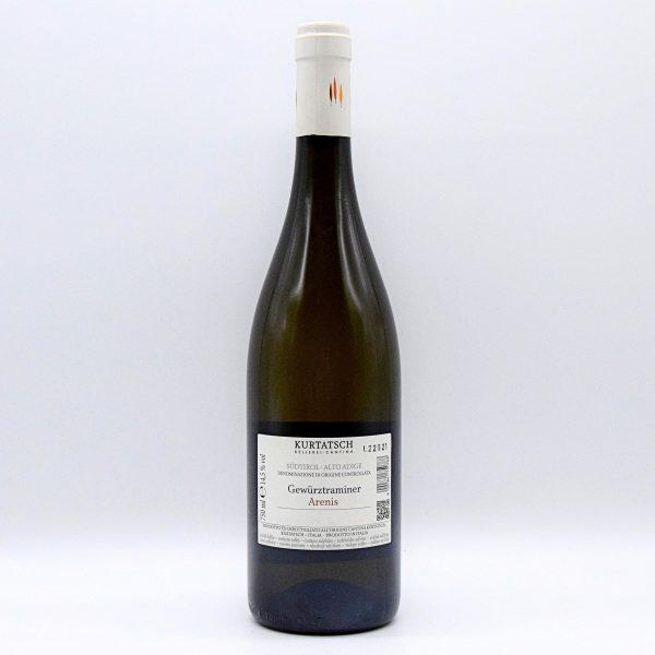 "Alto Adige DOC Gewürztraminer ""Arenis"" – Kurtatsch Kellerei"