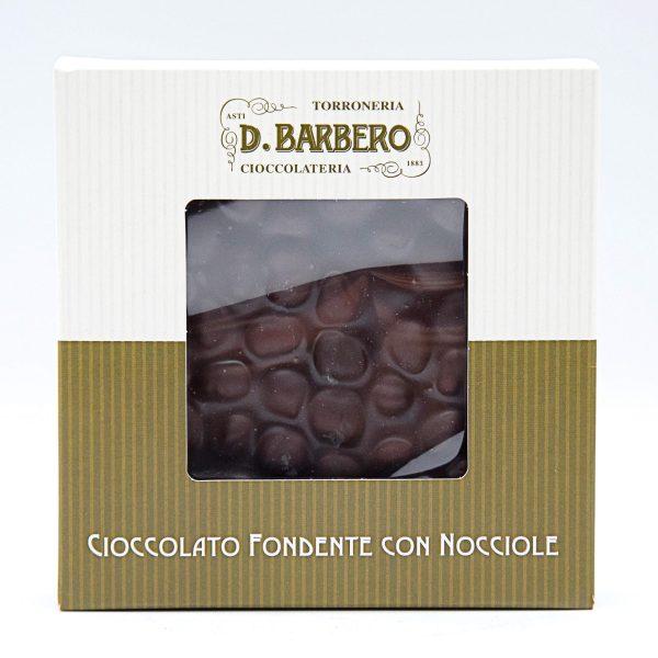 Quadrato di Cioccolato Fondente con Nocciole – Davide Barbero